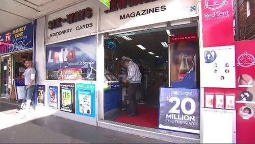 The three winning tickets were bought at Six Ways newsagent in Bondi, NSW. 9News