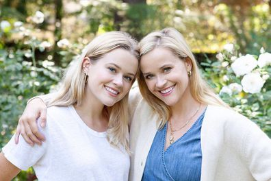 Reese Witherspoon with daughter Ava Phillippe.