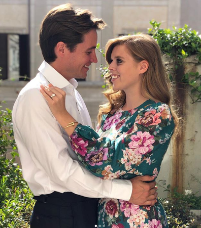 Princess Beatrice is engaged.
