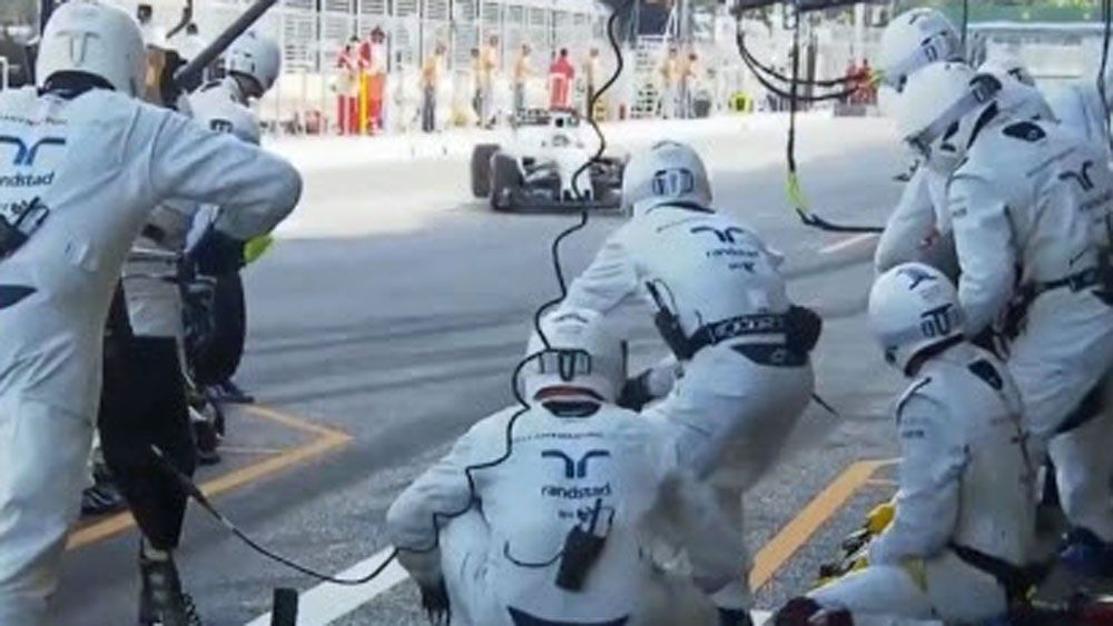 Formula One: Williams clock record time with slick pit stop