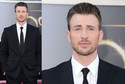 Phwoar. There's a reason why Chris Evans is THE Captain America.