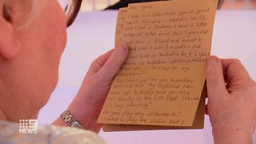 The program has more than 15,000 people registered to write to those who may be lonely or isolated.