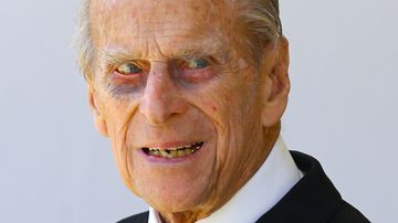 """""""The Duke is not a fan of showering and prefers to bathe,"""" a source told the Sun. Picture: AP"""