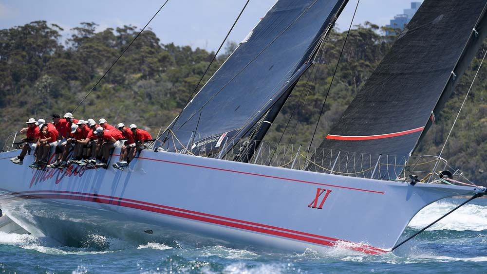 Comanche on track to break Sydney-Hobart record