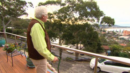 The veteran broadcaster has battled with Alzheimer's. (9NEWS)
