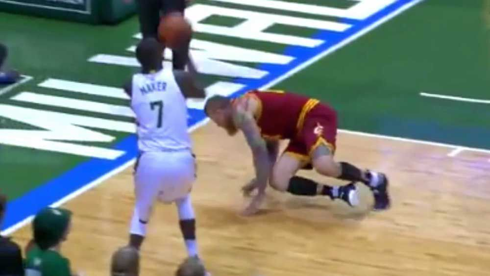NBA: Maker sends rival crashing with stunning crossover