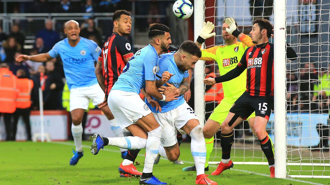 Riyad Mahrez's winner puts Manchester City back on top of English Premier League