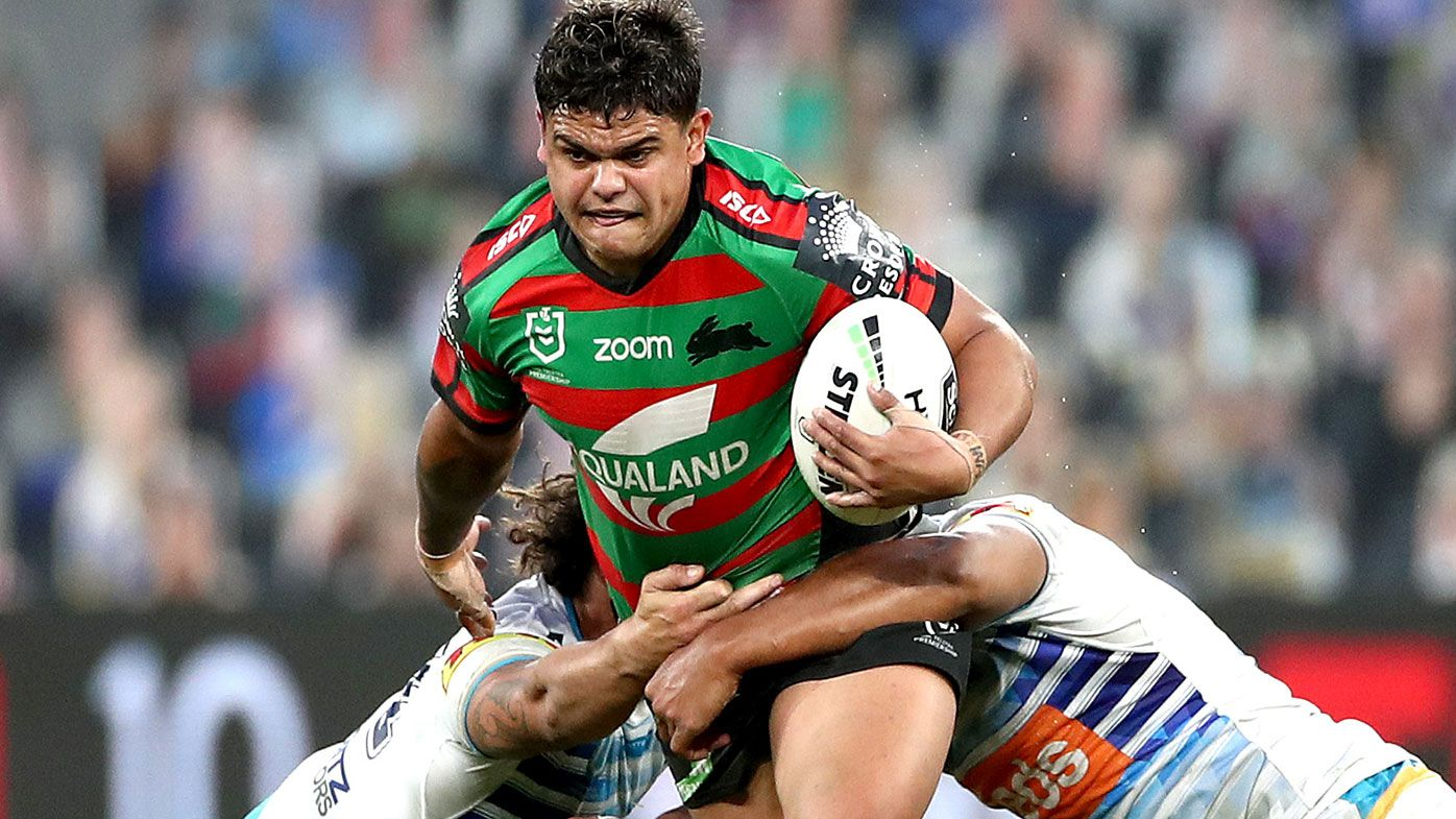 South Sydney recruit Latrell Mitchell stars in win over Gold Coast Titans