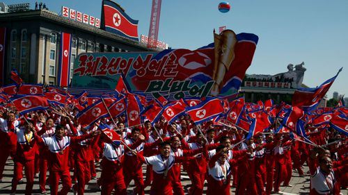 The recent North Korean National Day parade downplayed its nuclear arsenal.