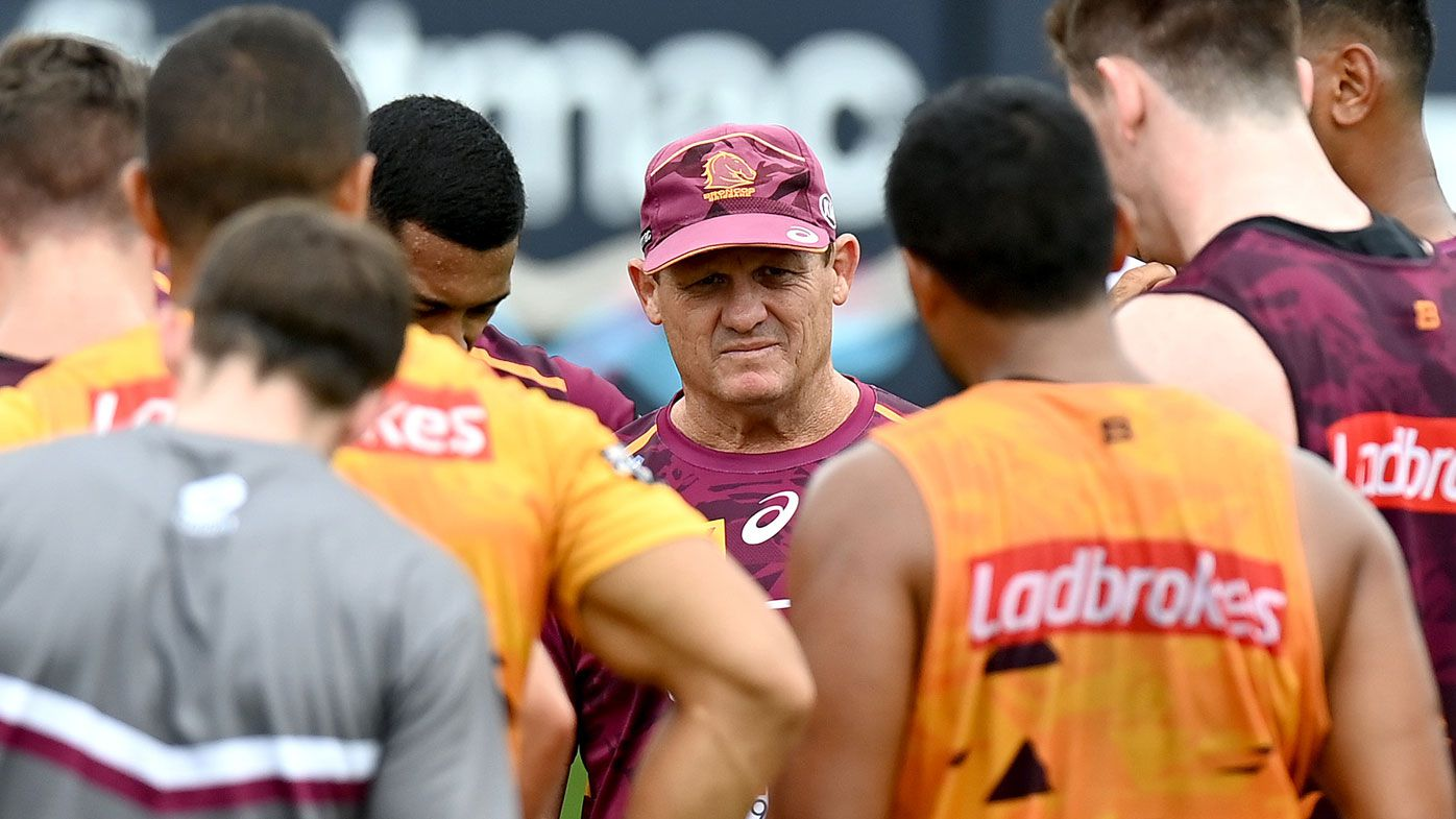 Kevin Walters will have a fight on his hands to turn around the fortunes of the Brisbane Broncos. (Getty)