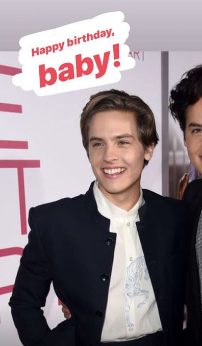 Riverdale star Cole Sprouse, birthday message