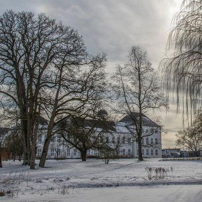 Graasten Castle in Southern Jutland, Denmark