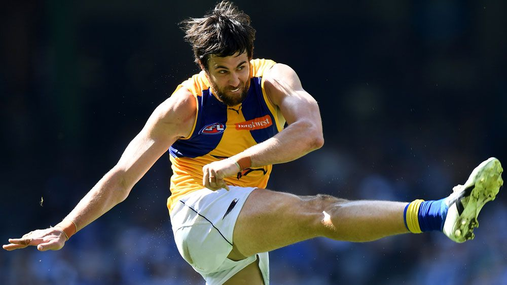 West Coast's Josh Kennedy boots seven goals as Eagles crush Kangaroos