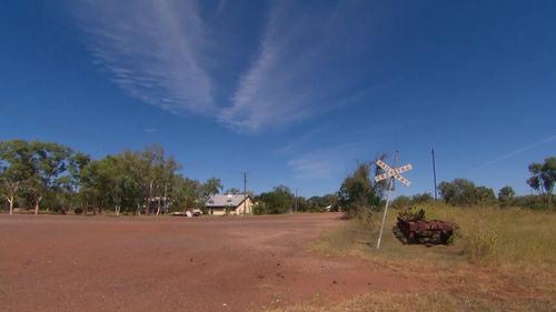 Larrimah has a population of just 12. (9NEWS)