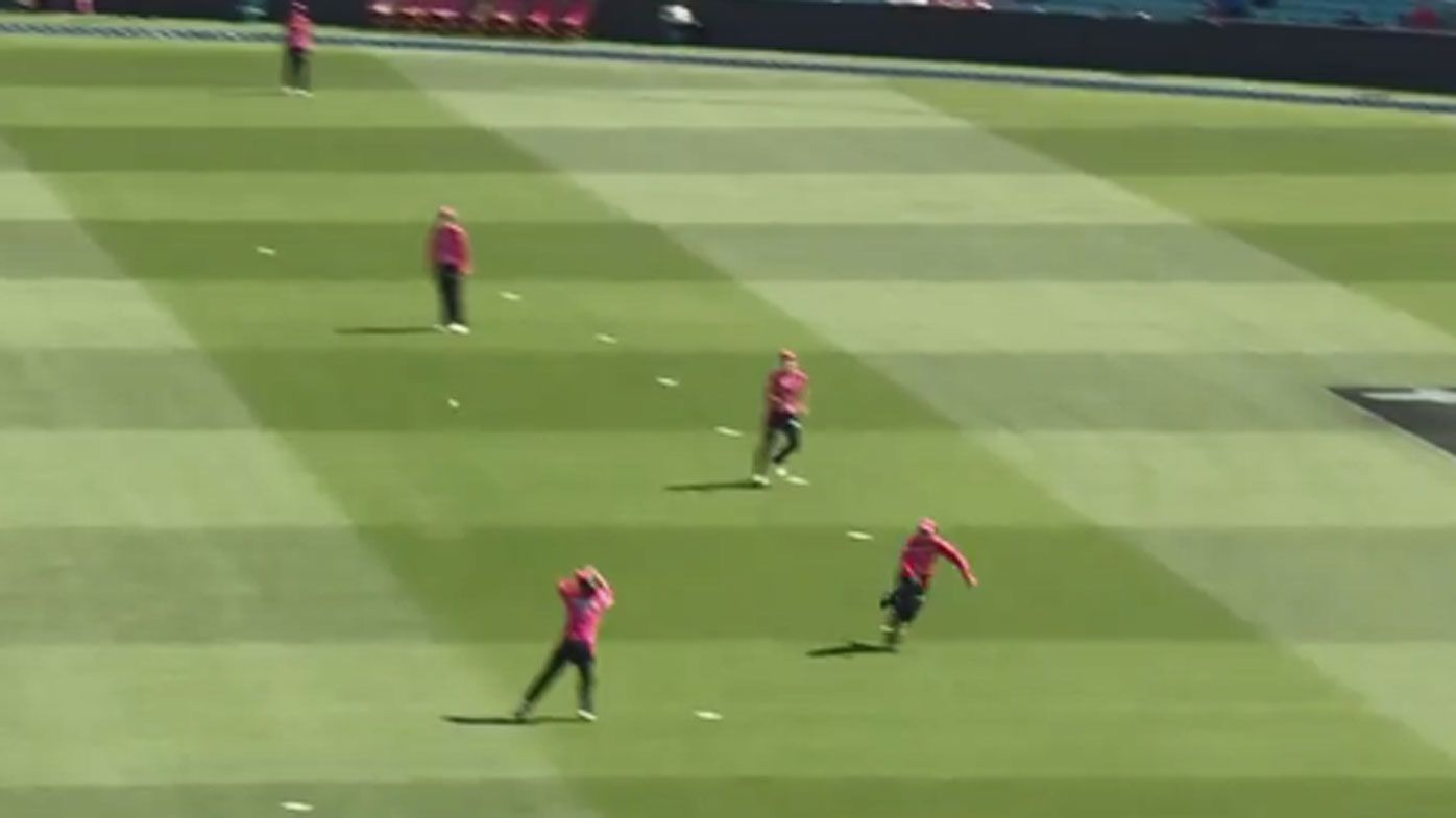 Smith pulls off contender for catch of year as Healy leads Sixers to WBBL win