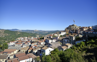 Panoramic view of Laurenzan