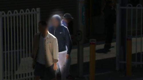 A commuter at Carlingford was caught not tapping his Opal card. (9NEWS)