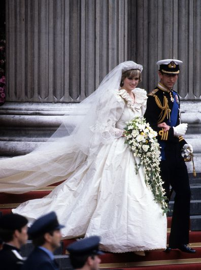 Princess Diana and Prince Charles married in 1981.