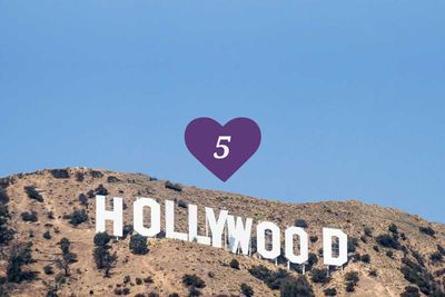 <strong>5.&nbsp;The Hollywood Sign, Los Angeles</strong>