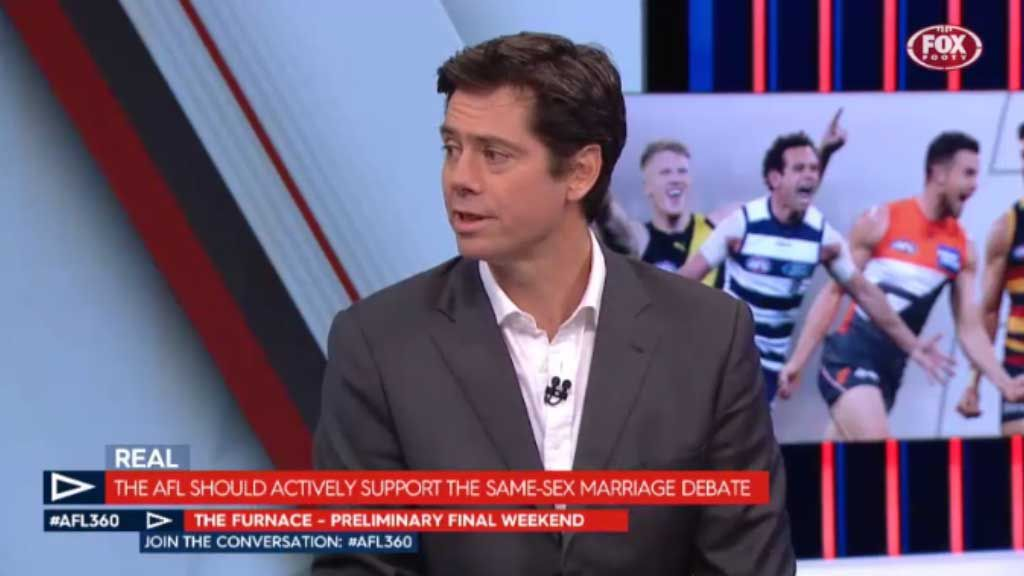 AFL shows support for same sex marriage