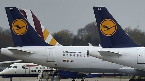 Man overpowered on Lufthansa flight after interfering with door