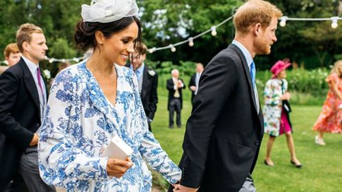 New photo of Meghan Markle and Prince Harry