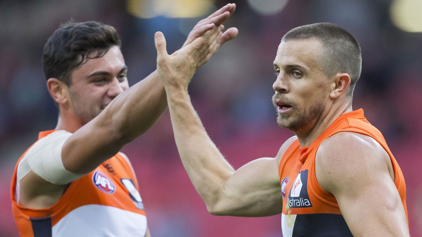 GWS Giants overcome wayward kicking to cruise to AFL win over Brisbane Lions