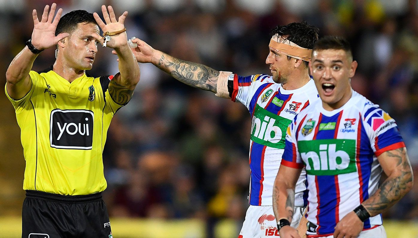 Brad Fittler calls for the NRL's sin-bin dawdlers to be sent off