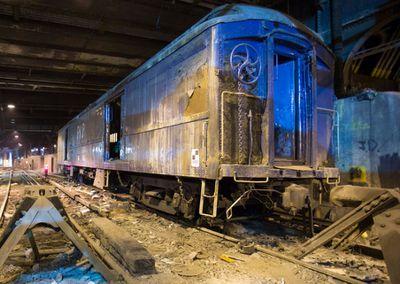 <strong>Train Platform, The Waldorf-Astoria, New York</strong>