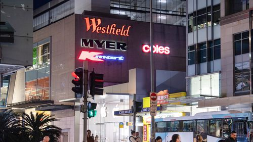 Westfield in Bondi Junction is at the centre of a Sydney virus outbreak