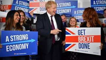Polls point to Boris Johnson and the Conservatives securing a majority in the House of Commons.