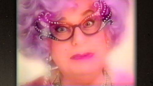 Along with his other infamous characters, Humphries has performed the role of a female for more than half a century, most famously as Melbourne housewife Dame Edna Everage. (60 Minutes)