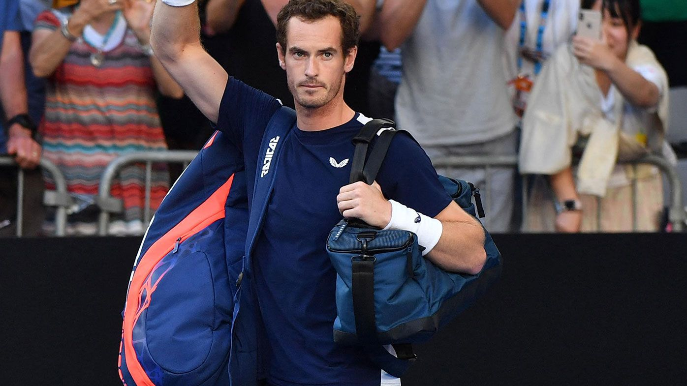 Andy Murray returns to court after hip surgery