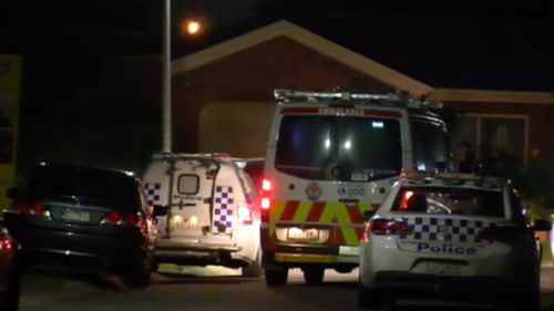 Emergency services were called to the scene at 8.30pm last night. (9NEWS)