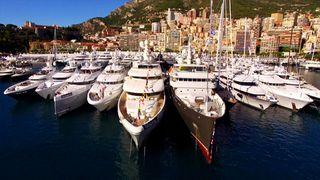 multi million dollar mega yachts