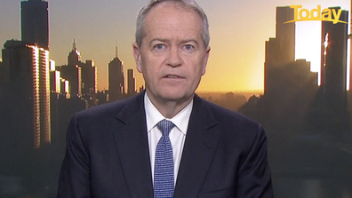 Bill Shorten directed a message to anti-vaxxers on Today.