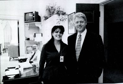 Monica Lewinsky meeting President Bill Clinton, White House