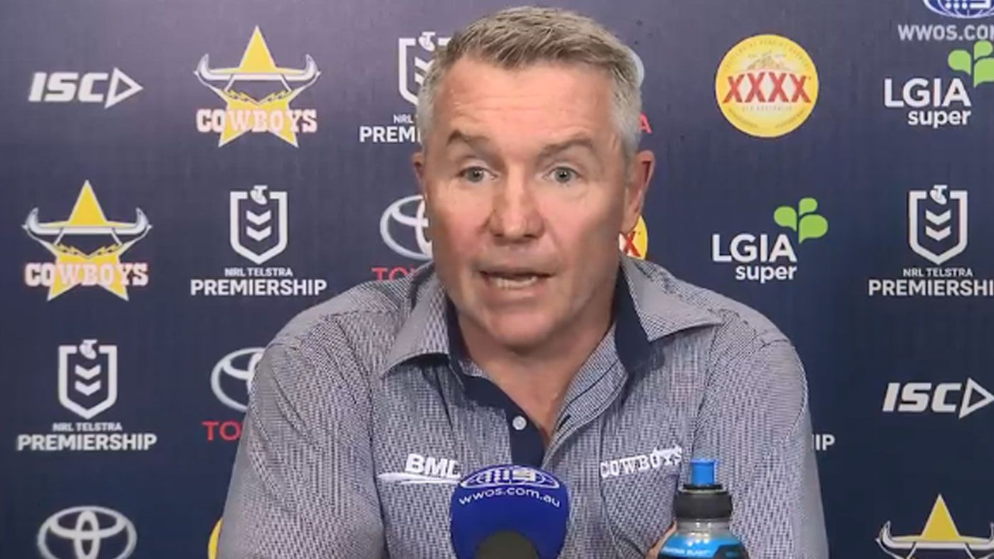 Cowboys coach Paul Green considering contacting NRL referees boss after loss to Wests Tigers