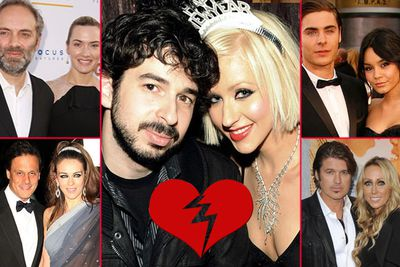 <b>Other break-ups:</b> Kate Winslet & Sam Mendes, Jim Carrey & Jenny McCarthy, Christina Aguilera & Jordan Bratman, Billy Ray and Tish Cyrus, Liz Hurley and Arun Nayar, Zac Efron and Vanessa Hudgens.