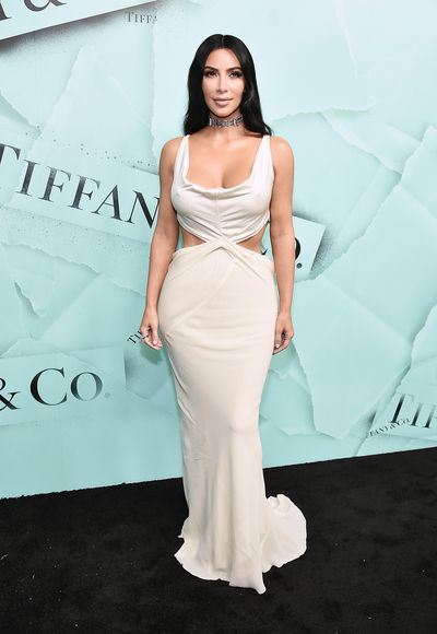 Kim Kardashian attends the 2018 Tiffany & Co. Blue Book Gala on October 9, 2018 in New York City
