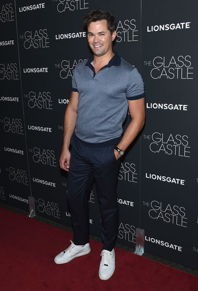 Andrew Rannells&nbsp;at the premier of&nbsp;<em>The Glass Castle</em>.