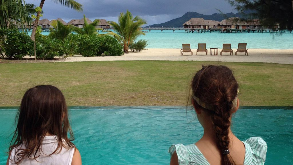 Gullible's travels: travelling with children can be the same old stuff in an exotic location, says Dilvin Yasa. Image: supplied