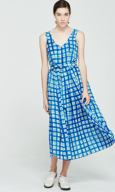 """<p>7.<a href=""""http://shop.katesylvester.com/estore/style/216k509.aspx?c=408"""" target=""""_blank"""">Kate Sylvester</a> Adrienne dress, $449</p> <p>Because you just can't go on a picnic date, meet his parents or attend an outdoor concert wearing denim cut-offs.<br /> </p>"""