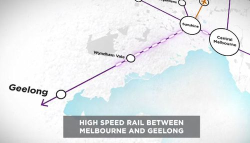 Last month the Geelong line was used by more than 800,000 people.