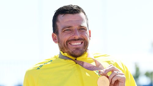 """""""I'm never someone to feel like I really deserve it - I race wheelchairs and I do this thing that I love."""" Picture: AAP"""