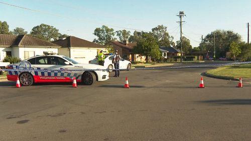 The woman was struck on Power Street in Doonside.