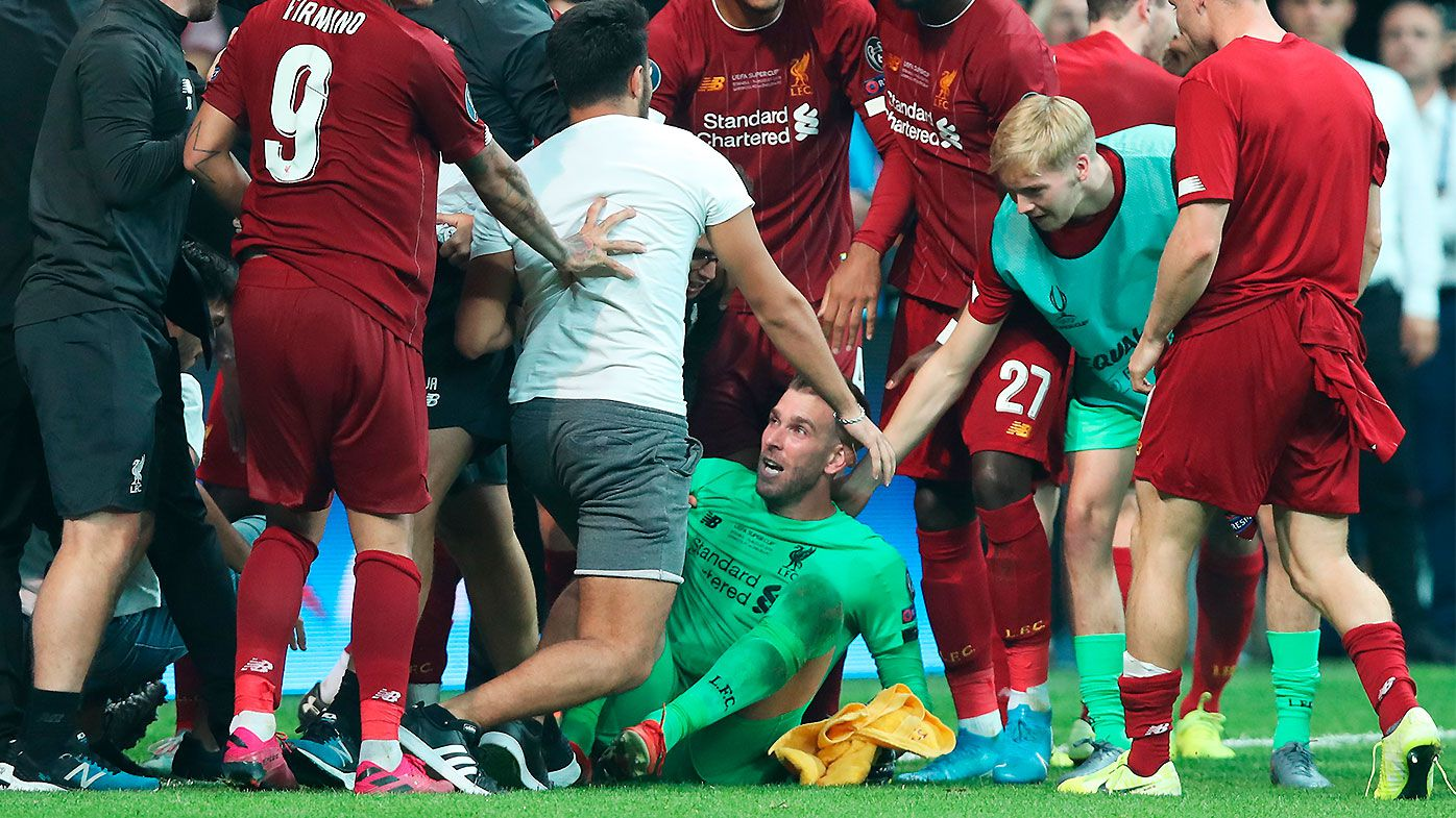 'Crazy' Super Cup fan incident deepens Liverpool's $10 million goalkeeper crisis
