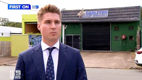 Ray White Agent Hudon Kaddatz telling 9News the sale sets a precedent for the size.