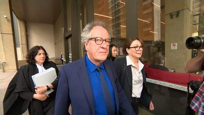 'It's not based on any evidence': Geoffrey Rush's defamation trial continues