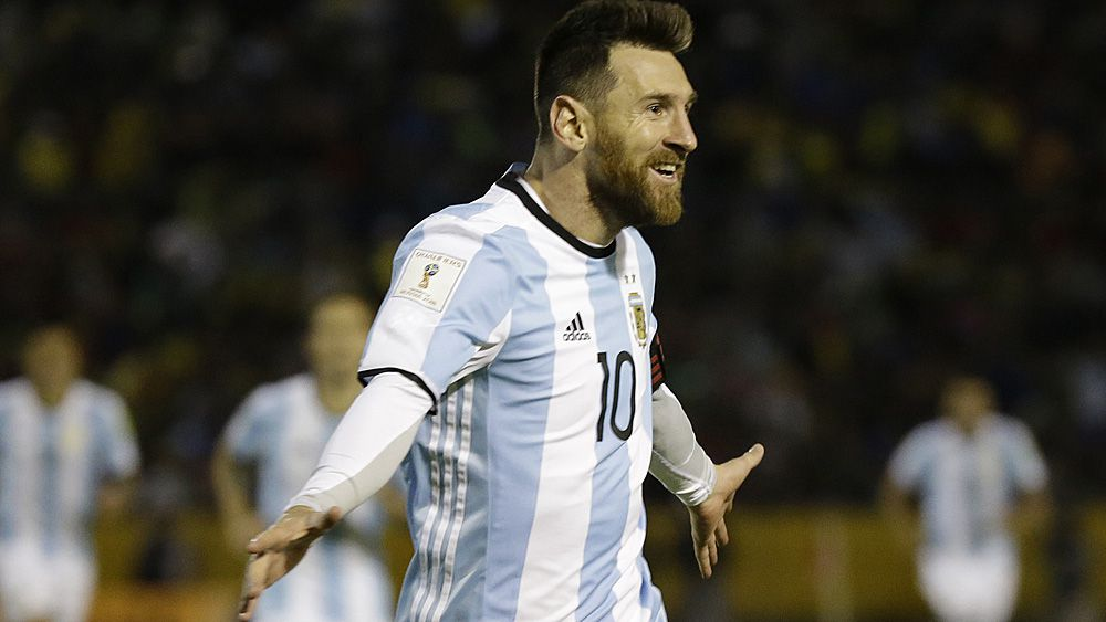 World Cup 2018: Lionel Messi hat-trick seals Argentina's road to Russia